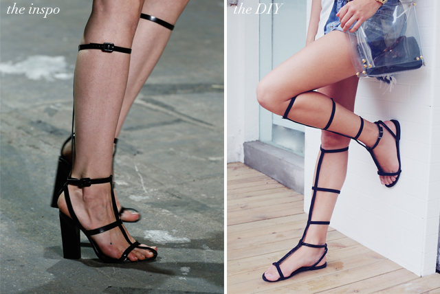 diy-alexander-wang-gladiator-sandals