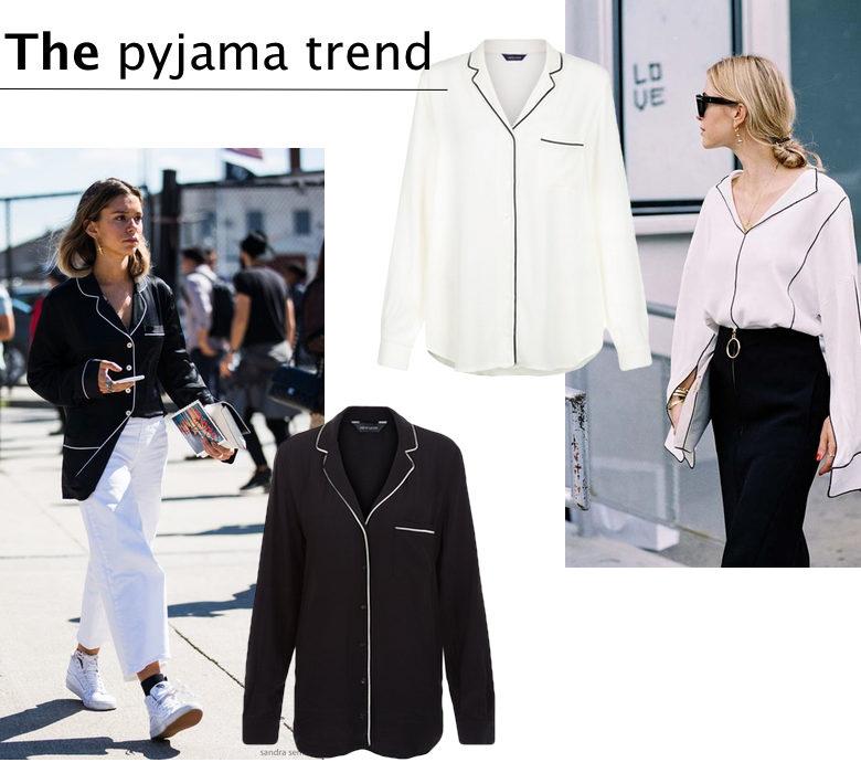 The pajama trend