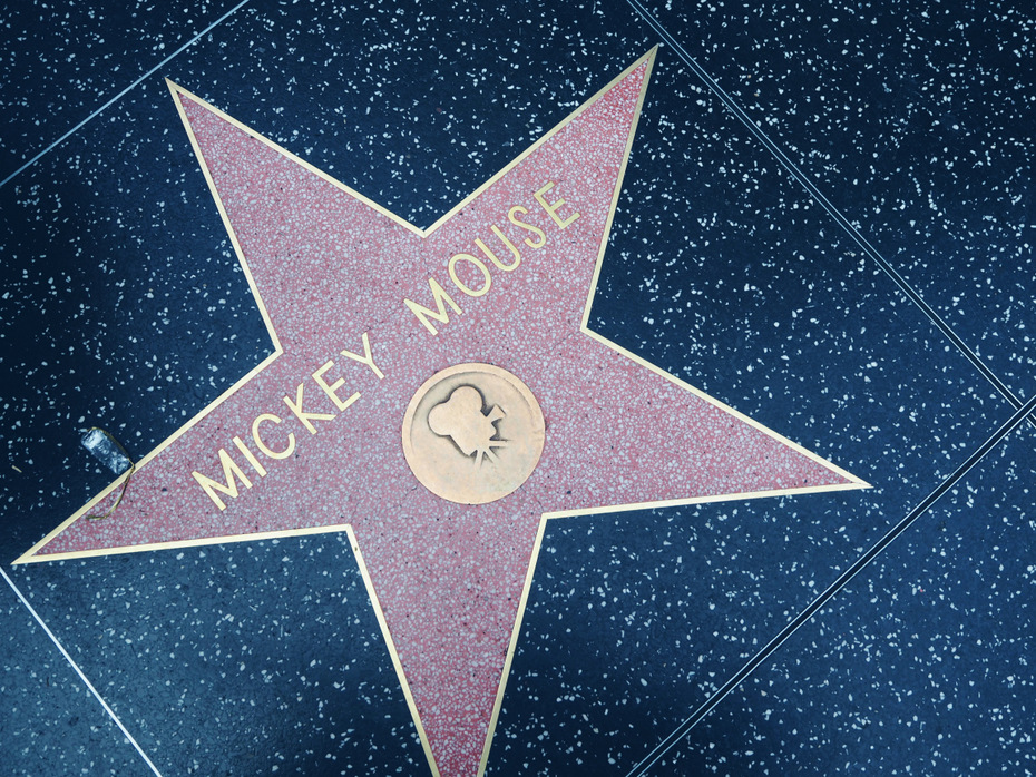 Walk-of-fame-Mickey-Mouse