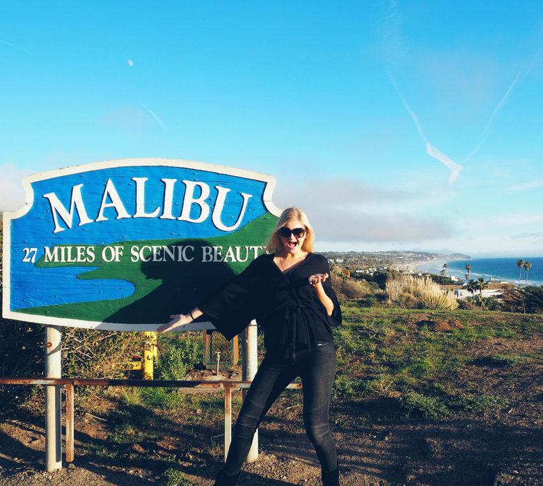 Malibu-sign
