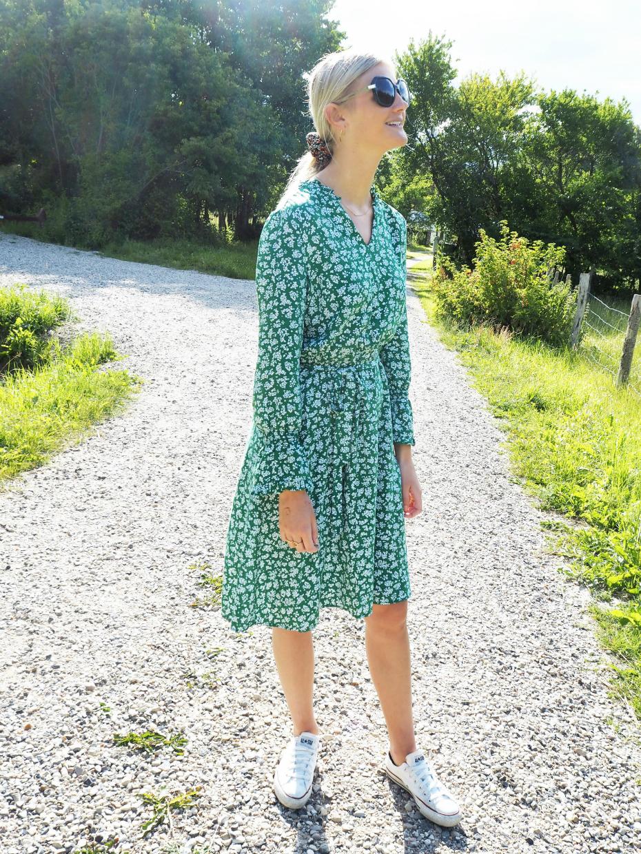 Outfit-grøn-kjole