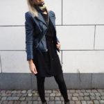 Outfit-blå-læderjakke